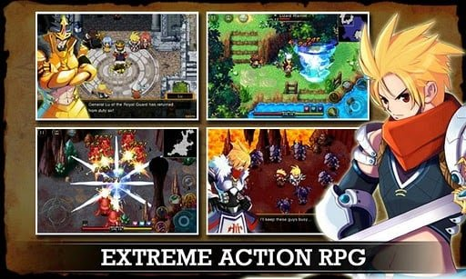 Zenonia 4 game rpg offline android