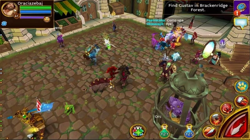Arcane Legends game mmorpg terbaik android