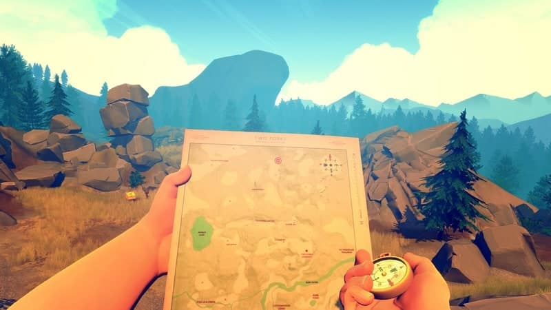 Firewatch game pc santai terbaik
