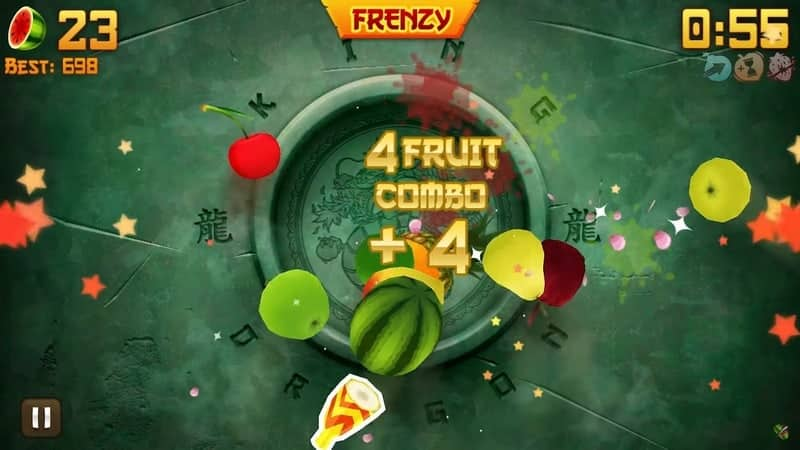 Fruit Ninja - 100 juta+ Unduhan