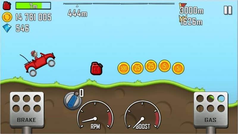 Hill Climb Racing - 500 juta+ Unduhan