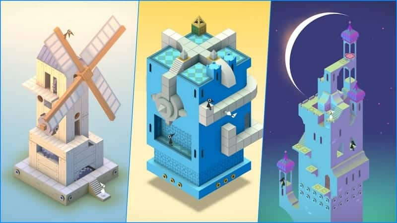 Monument Valley game android terbaik