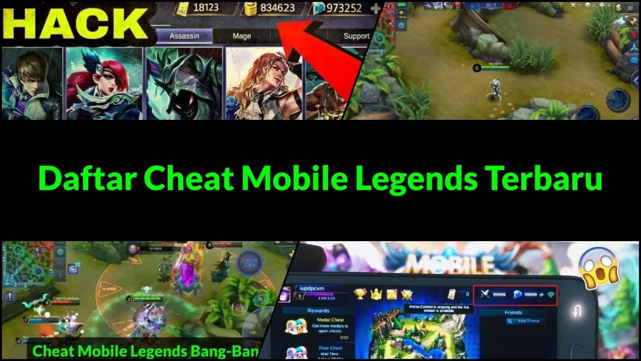 Daftar Cheat Mobile Legends Terbaru
