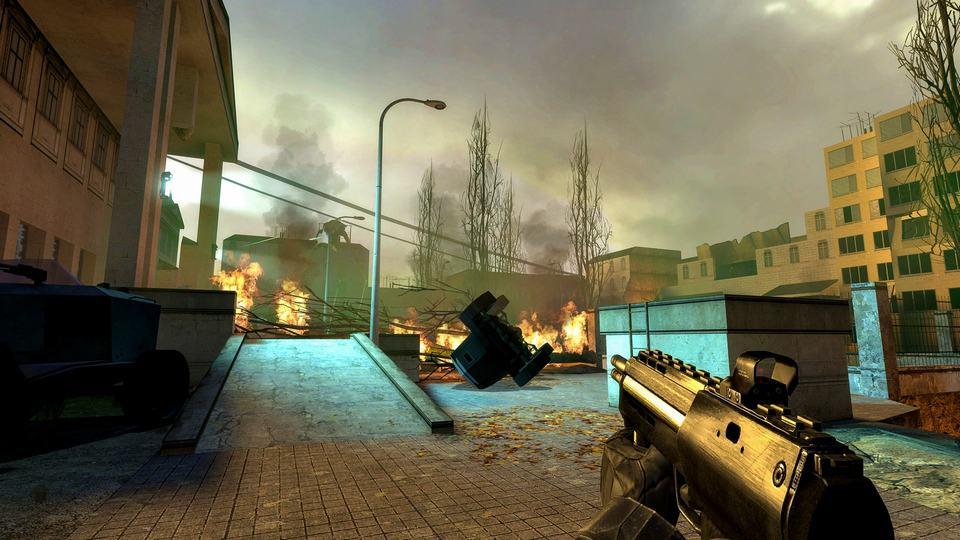 Half Life 2 Game Jadul Grafis Memukau