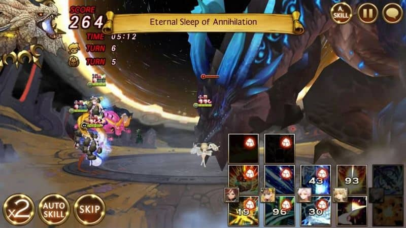 Seven Knights game superhero android