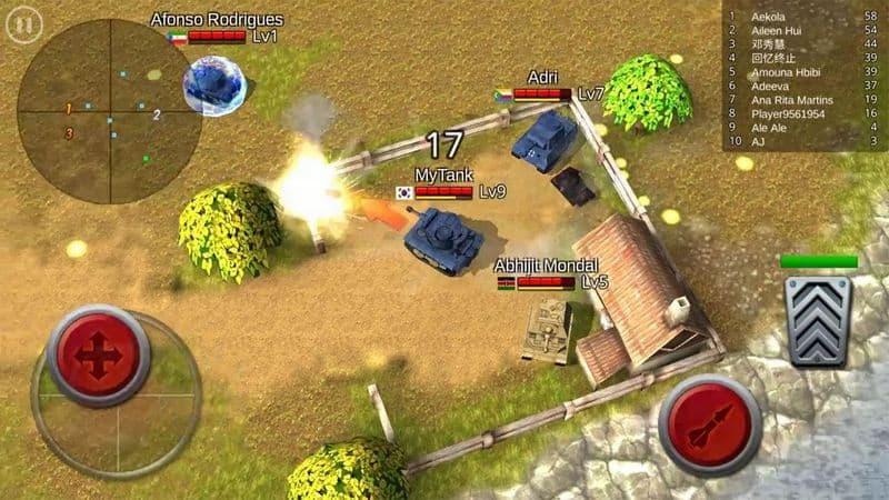 Battle Tank game perang android terbaik