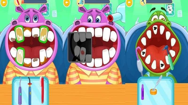 Children's doctor dentist