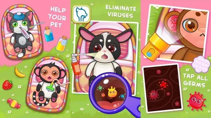 Doctor Pets game dokter android
