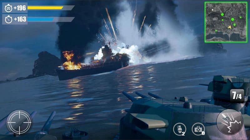 Invincible Battleship- 3D Strategy Naval War Game