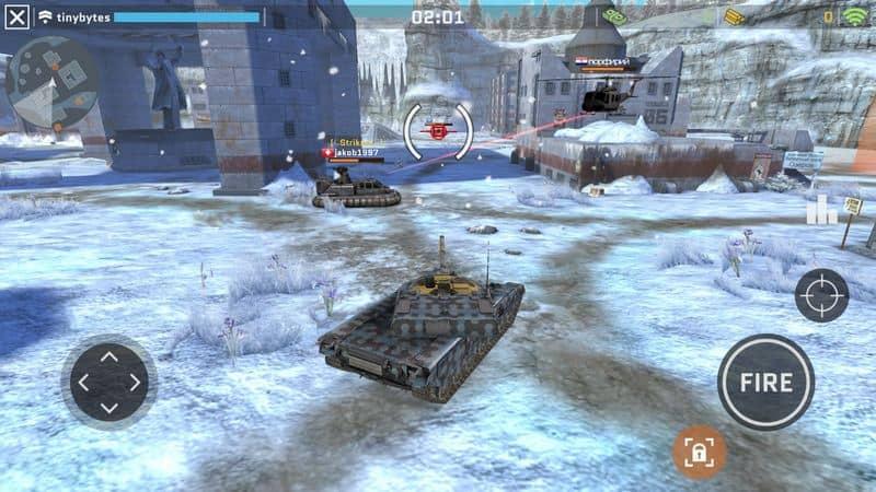 Massive Warfare: Aftermath - Free Tank Game