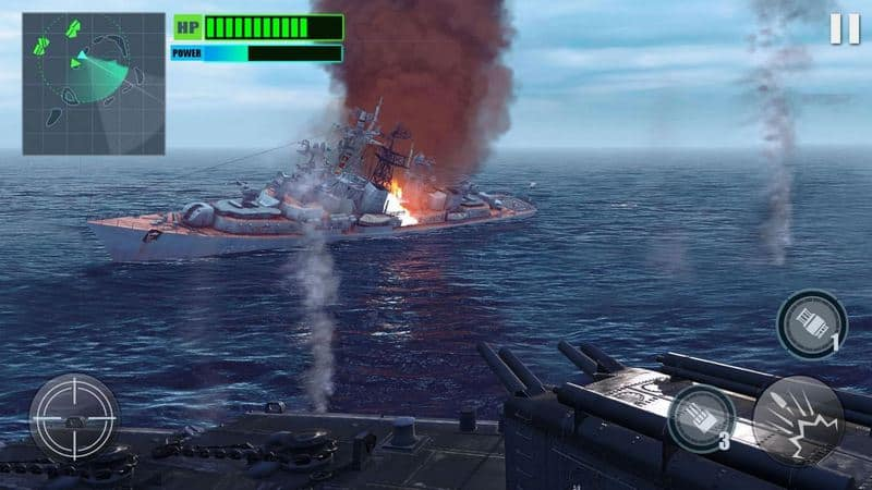 Silent Warship Hunter- Sea Battle Simulation Game