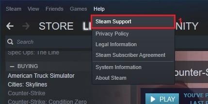 Cara Refund Game Steam
