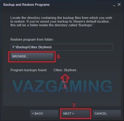 Cara Restore Game Steam