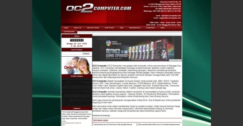 Situs Simulasi Rakit PC Gaming OC2Computer