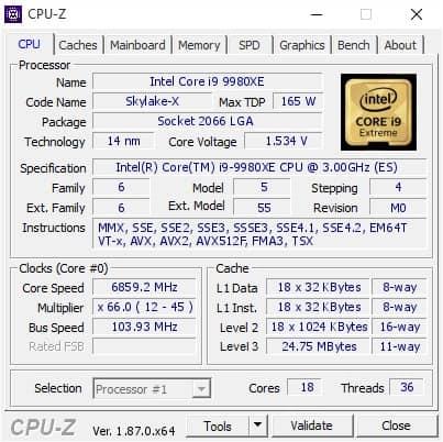 Cara Melihat Spesifikasi PC dan Laptop dengan CPU Z