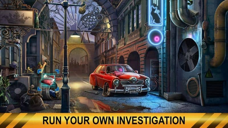Crime City Detective Hidden Object Adventure