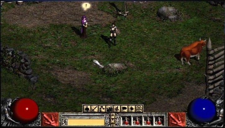 Diablo-2-pc game jadul lawas
