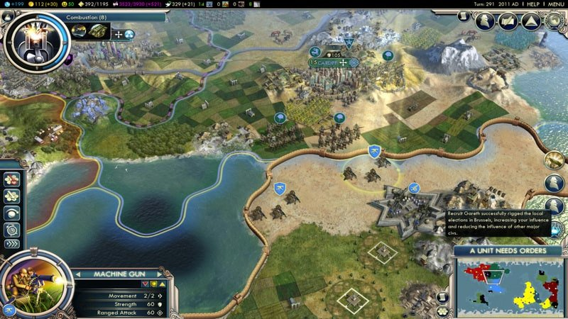 game pc ringan terbaik Sid Meier's Civilization V