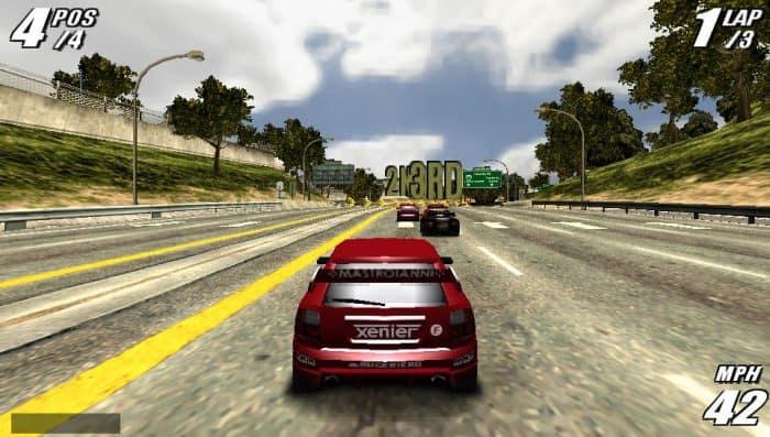 Burnout Legends Game PSP Terbaik