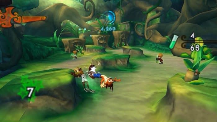 Crash of The Titans Game PSP Terbaik