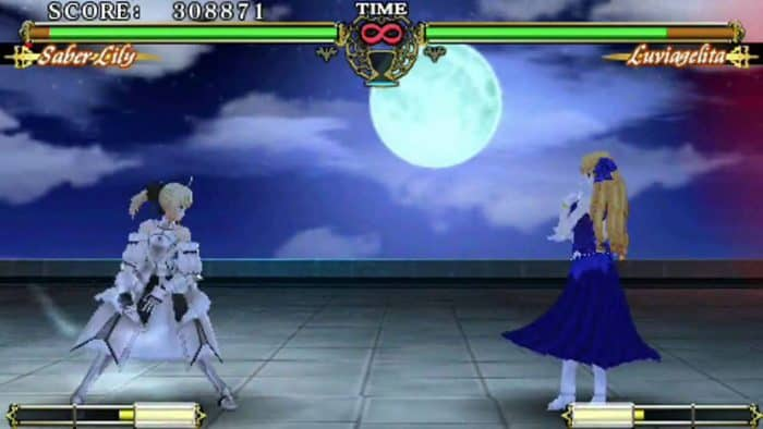 Fate Unlimited Codes Game PSP Terbaik
