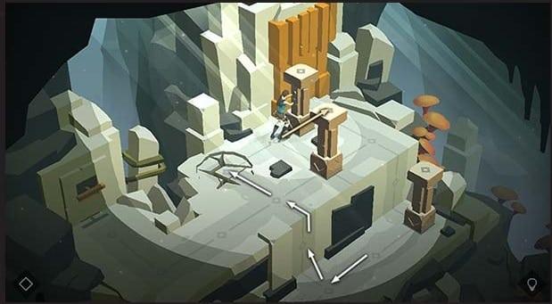 Lara Croft Go game android terbaik