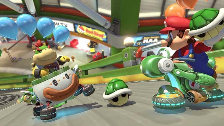 Mario Kart 8 Deluxe Game Nintendo Switch Terlaris