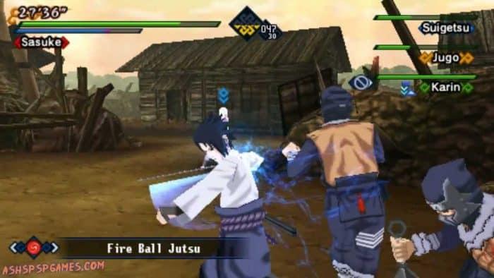 Naruto Shippuden Kizuna Drive Game PSP Terbaik