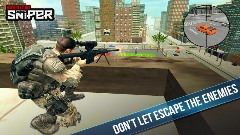American City Sniper Shooter game android terbaik offline