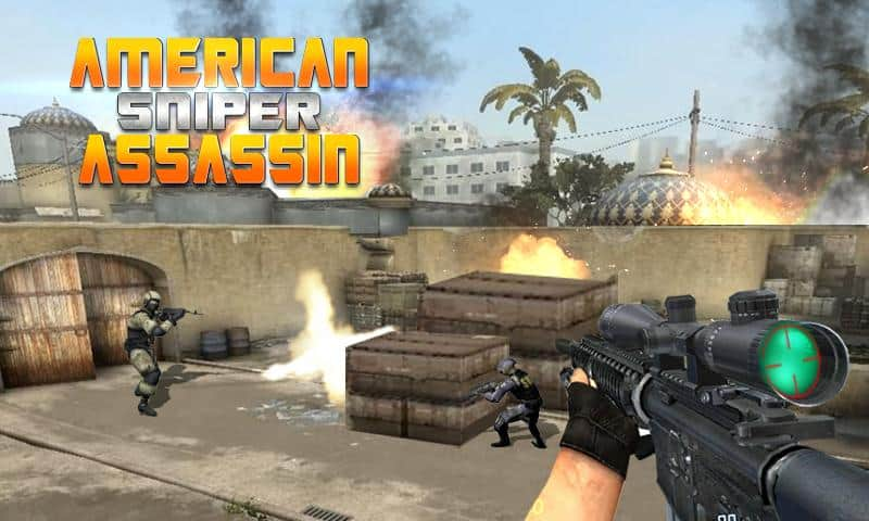 American Sniper Assassin game android offline