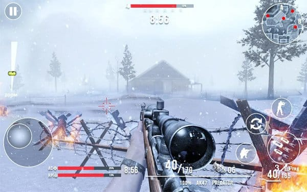 Call of Sniper WW2 game android terbaik offline