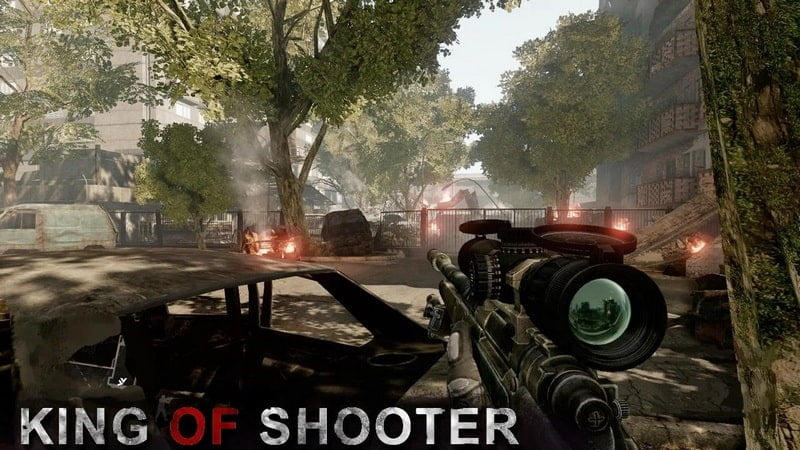 King Of Shooter game android terbaik offline