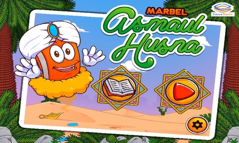 Marbel Asmaul Husna Suara dan Terjemahan