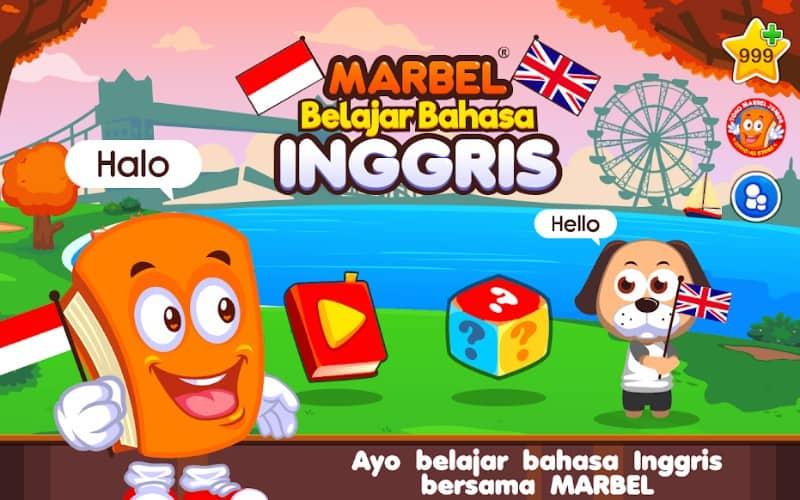 Marbel Belajar Bahasa Inggris