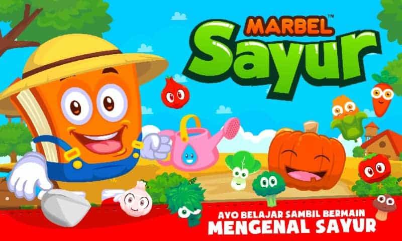 Marbel Belajar Sayur