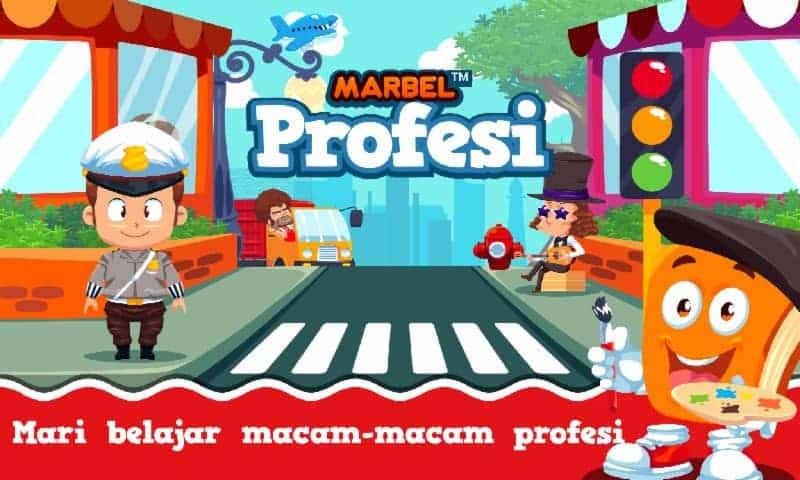 Marbel belajar Profesi