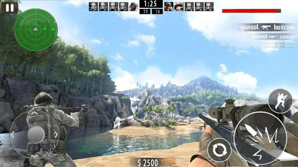 Mountain Sniper Shoot game android terbaik offline