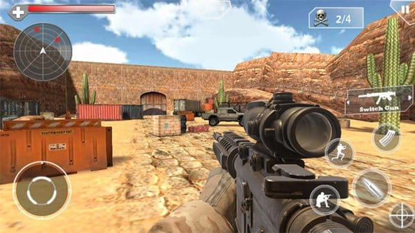 Shoot Hunter Gun Killer game android terbaik offline