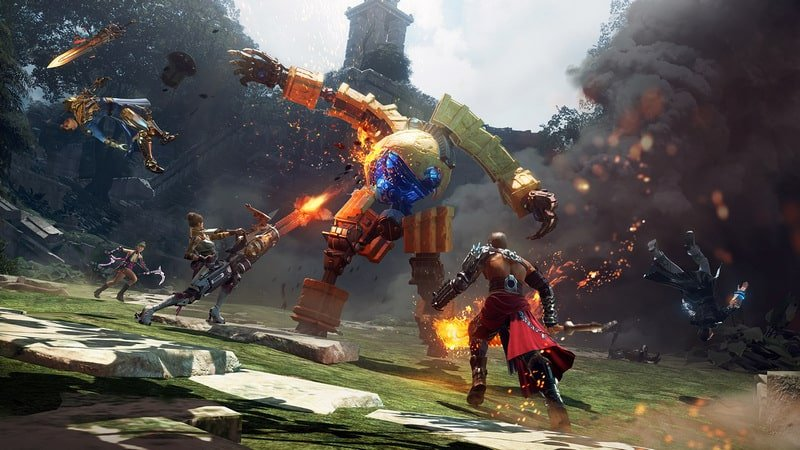 Skyforge game steam gratis terbaik