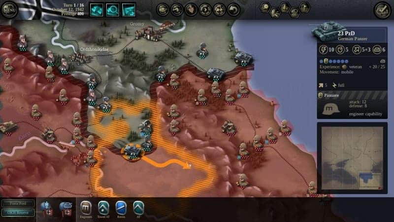 unity of command stalingard game pc ringan steam