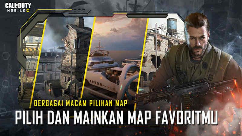 COD Mobile Memiliki 9 Map