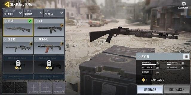 COD Mobile Senjata BY15