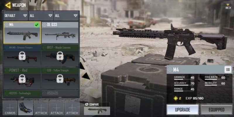 COD Mobile Senjata M4