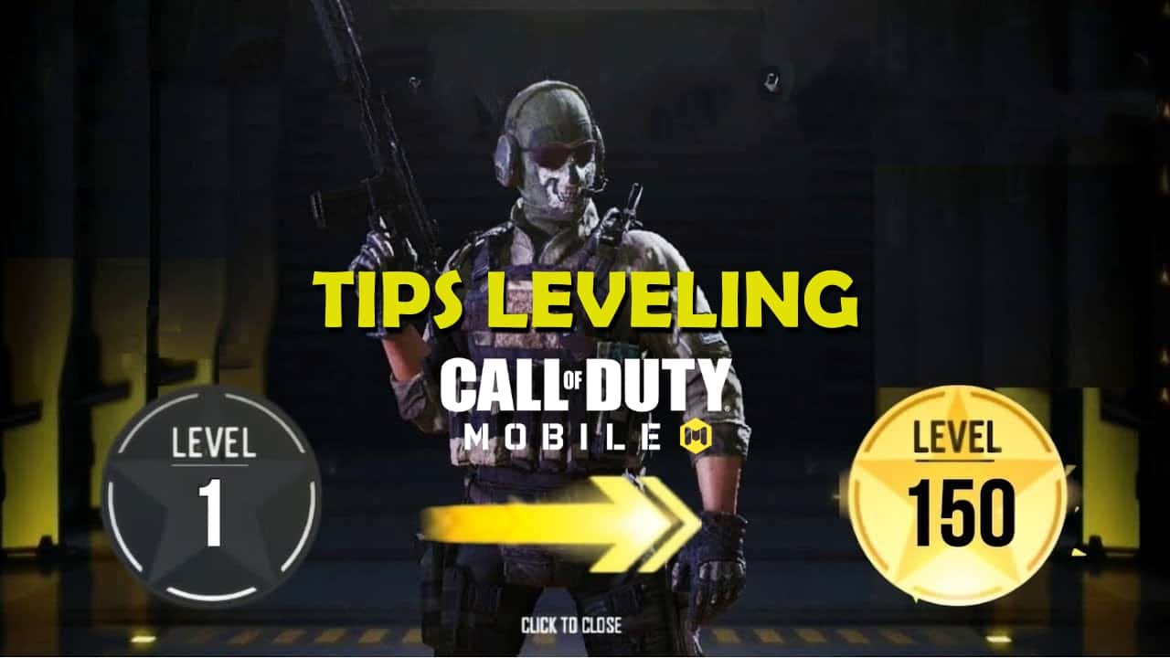 Tips Ampuh Leveling Cepat COD Mobile