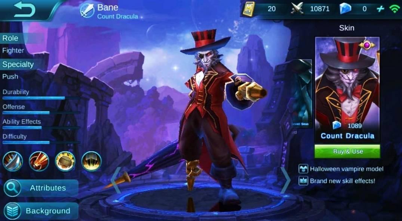 Bane Count Dracula termahal