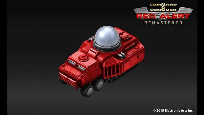 Command & Conquer Red Alert Remastered