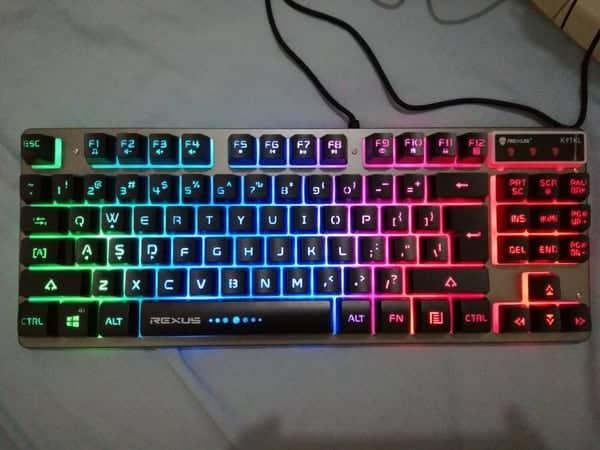 Rexus Keyboard Gaming Fortress K9TKL