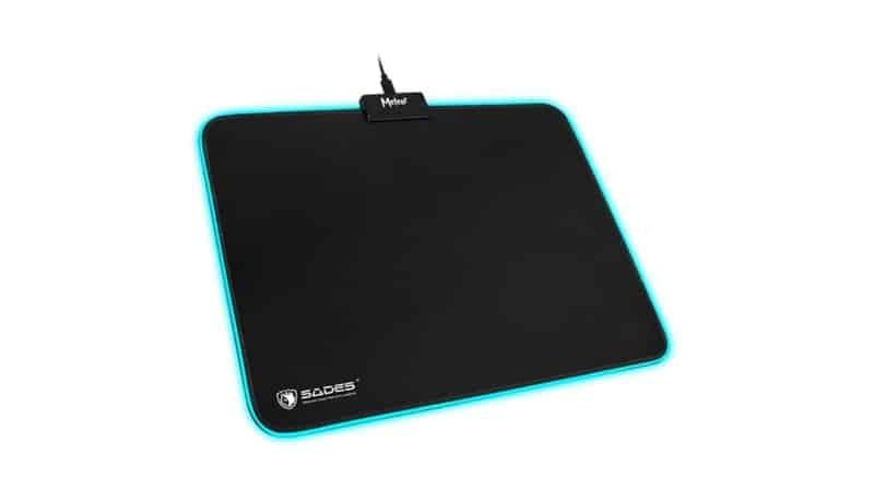 Sades Meteor RGB Gaming Mousepad