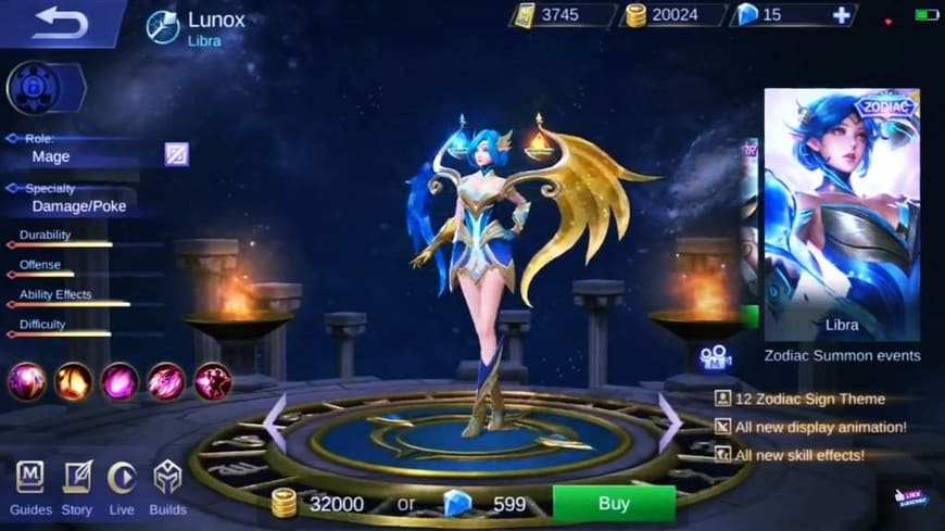 lunox libra mobile legends