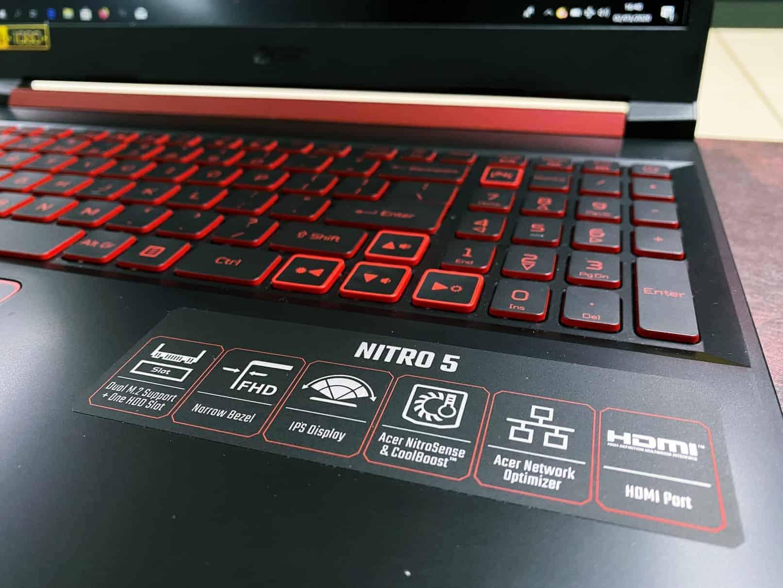 Acer NITRO 5 Fitur Unggulan
